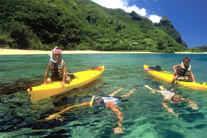 Hanalei Blue Lagoon Paddle & Snorkel