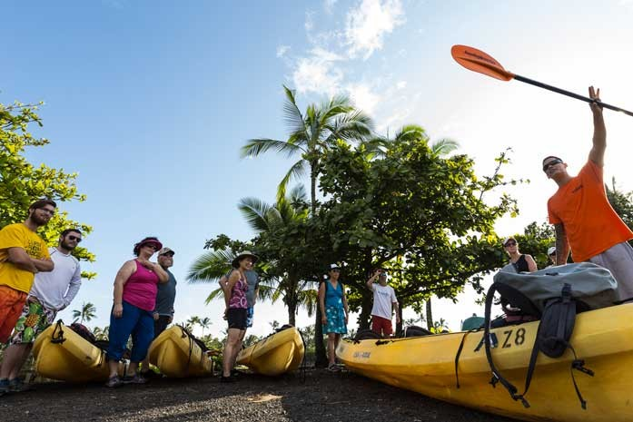 Kauai Kayak Lessons and Tours