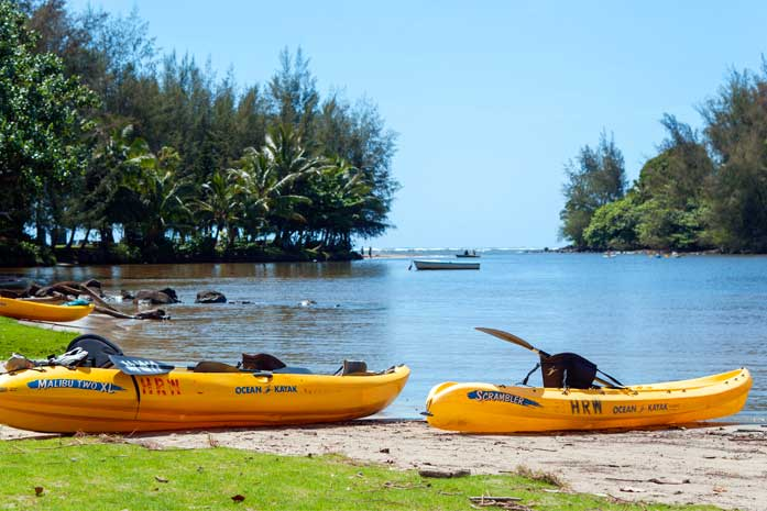 Kauai Kayak Rentals