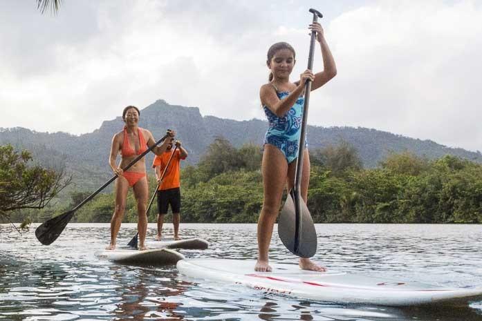 Kauai Stand Up Paddling