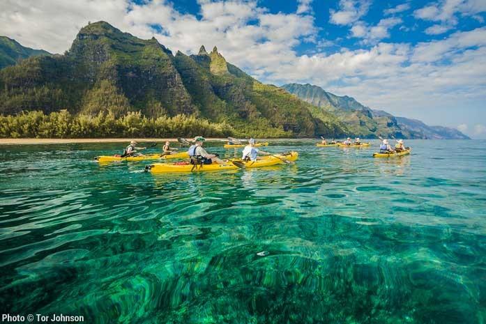 Kauai Ocean Kayaking Tour With Kayak