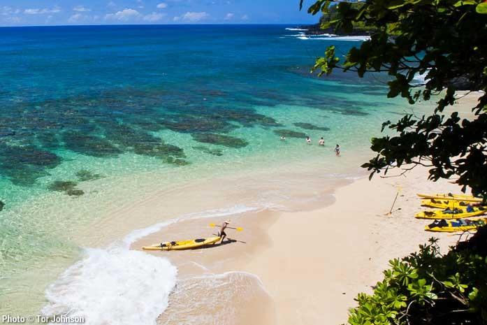 Hanalei Bay Snorkel Tour