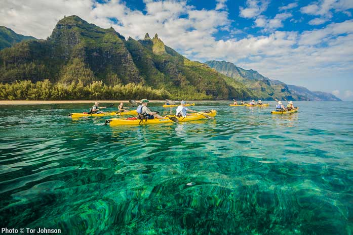 Na Pali Coast Summer Sea Kayaking Tour