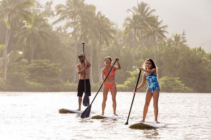 Wailua Stand Up Paddle SUP