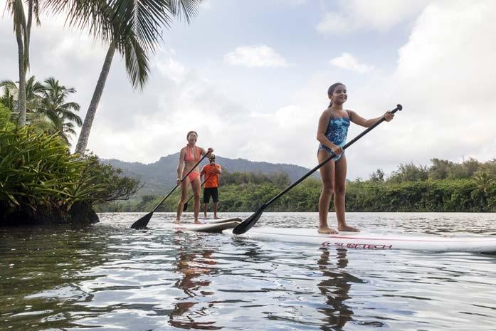 Wailua Sup Rentals From Kayak Kaua I